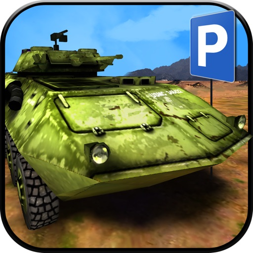 3D Army Simulator PRO - Real Life Driving and Parking Test Run - Drive and Park Military Truck & Car icon
