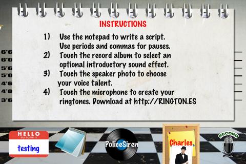 Ringtones Uncensored Pro ringtone & text tone creator for Talking Caller ID screenshot 4