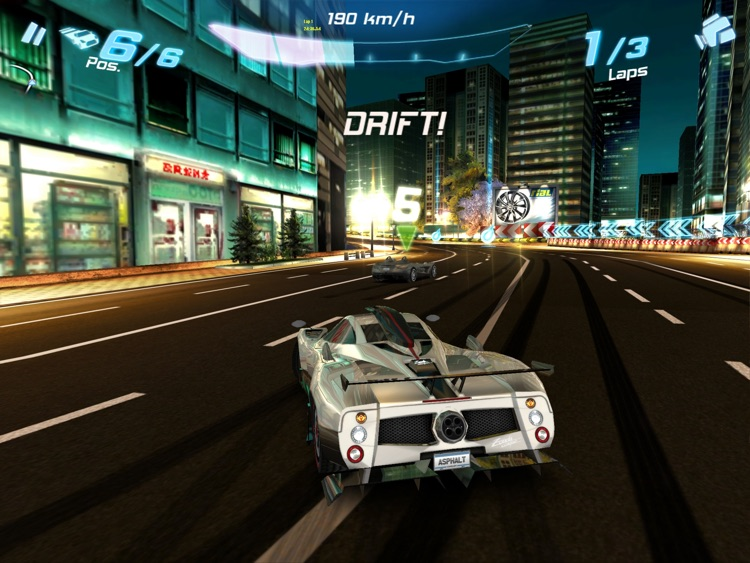 Asphalt 6: Adrenaline HD screenshot-4