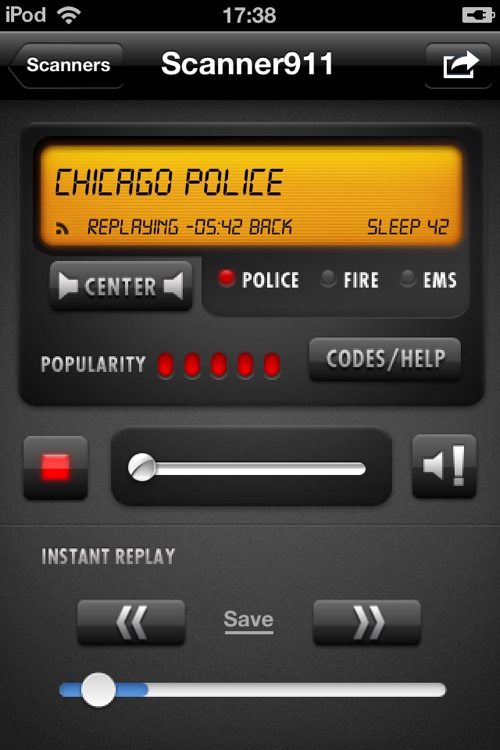 Scanner911 Police Radio (+ Music)