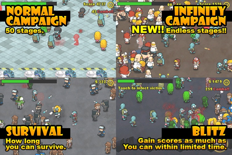 Infect Them All : Zombies Lite screenshot-3