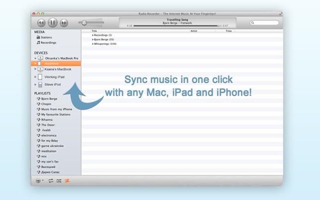 record internet radio mac