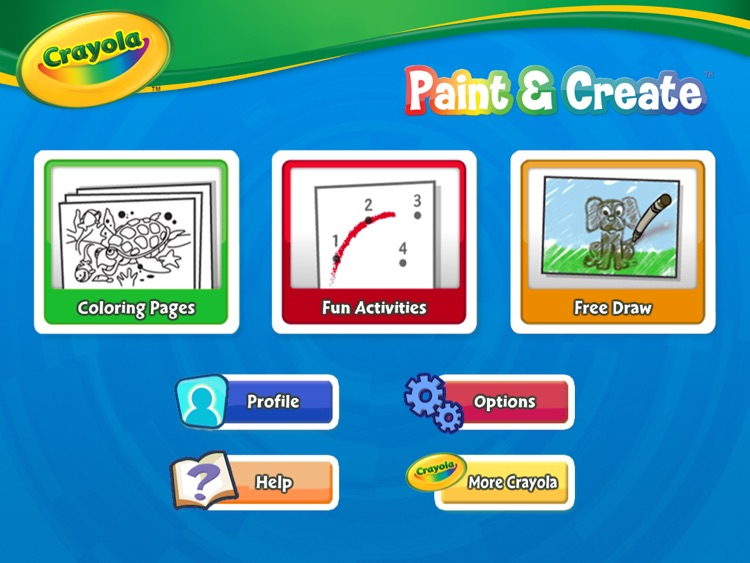 Crayola Paint & Create HD screenshot-3