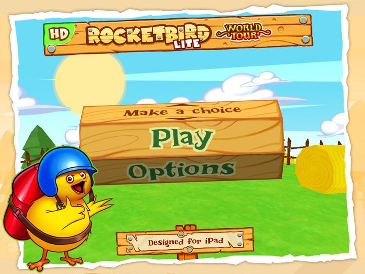 RocketBird World Tour HD Free screenshot-4
