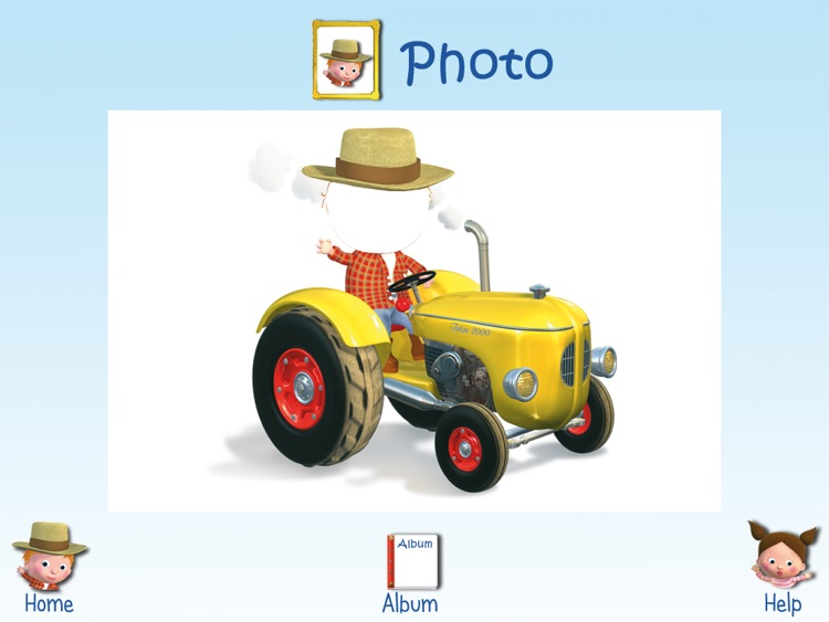 LITTLE BOY -  PETER'S TRACTOR HD screenshot-3