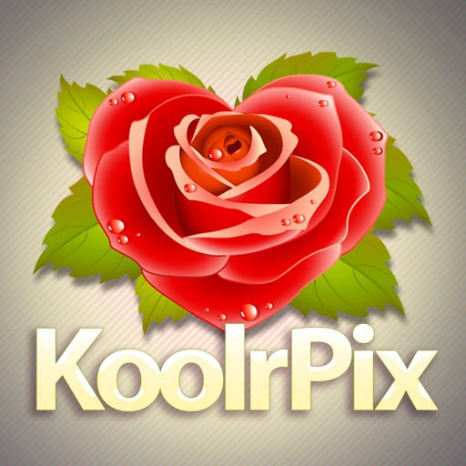 KoolrPix I Love U Mom iOS App