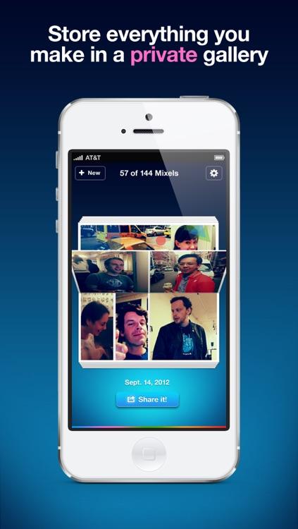 Mixel - Collage & Photo Frame screenshot-3