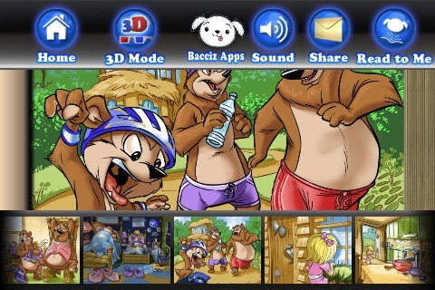 Goldilocks 3D and the Three Bears by Bacciz screenshot-4
