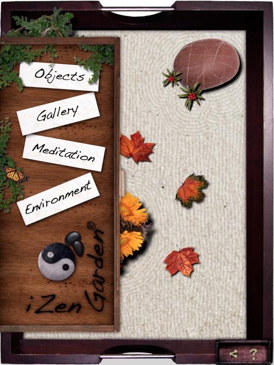 iZen Garden for iPad - Tabletop Zen Garden