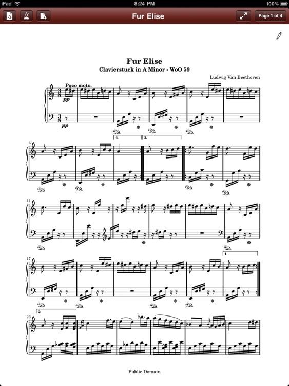 PDF Sheet Music Reader screenshot-4