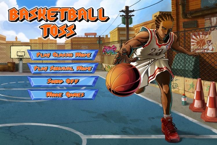 Basketball Toss HD screenshot-3