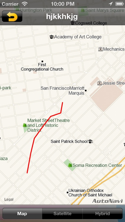 NC GPS Tracker - The footprints records Tracker screenshot-4