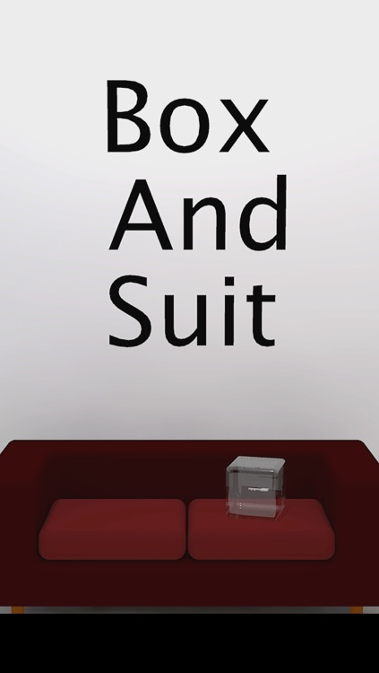 Box and Suit -room escape game-