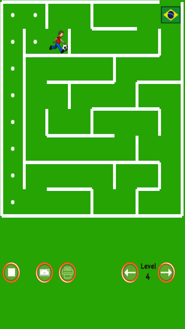 Soccer Maze screenshot three