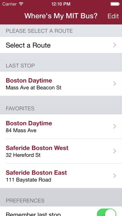 Where's My MIT Bus?