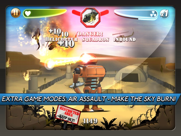 Robot Rampage HD screenshot-3