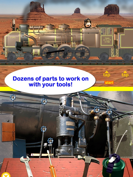 Steam Train Engineer