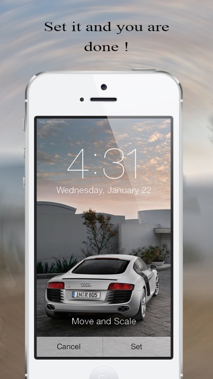 Wallpaper Fix and Fit - Resize any background for iOS 7 home screen