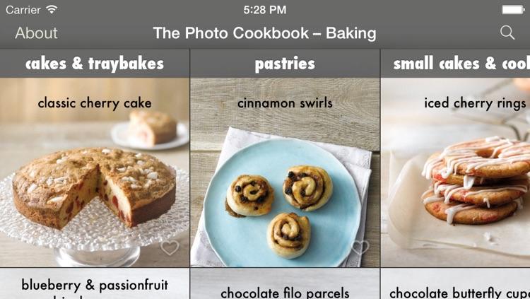 The Photo Cookbook – Baking