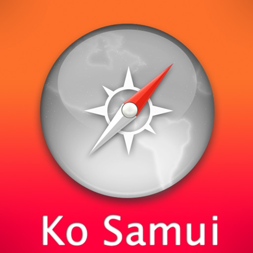 Ko Samui Travel Map (Thailand) icon