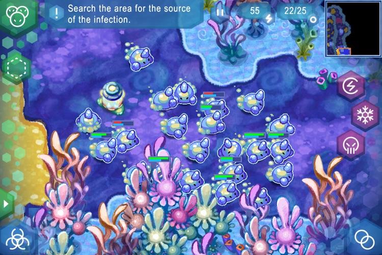 Amoebattle screenshot-3