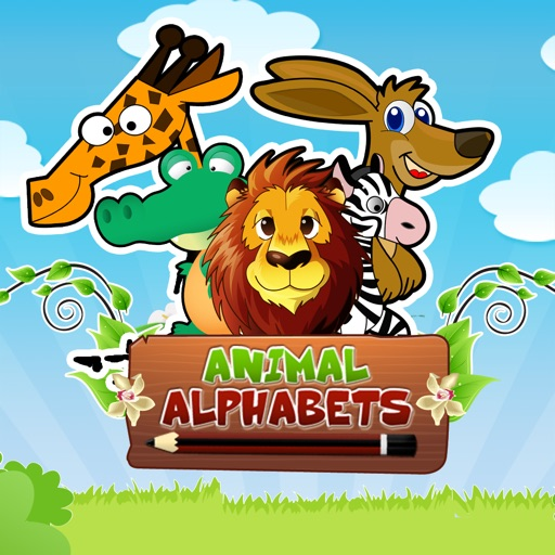 Animal Alphabets for iPhone: Learn , Write and Play icon