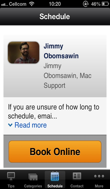 Jimmy Obomsawin, independent support for Apple, Macintosh, and iPhone in the Washington DC area screenshot-3