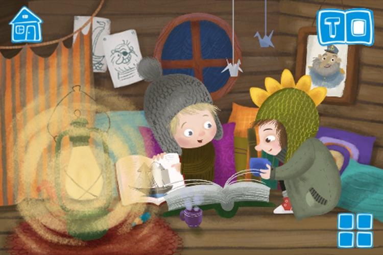 Dragon and Wolf - An Interactive Children`s Book screenshot-4
