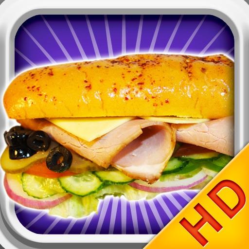Make Burger HD-Cooking games icon