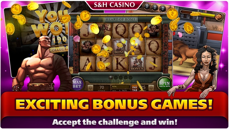 S&H Casino - FREE Premium Slots and Card Games screenshot-3