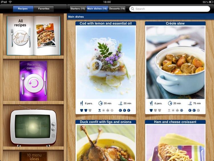 Best of French Cuisine for iPad screenshot-1
