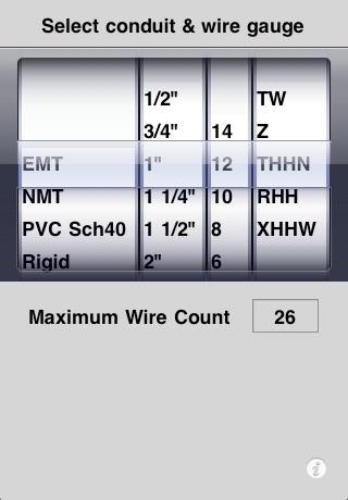 Conduit-Wire Calculator