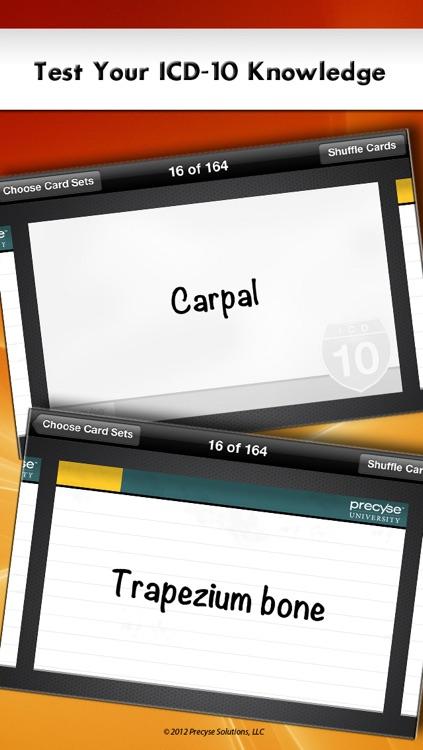ICD-10 Flash Cards screenshot-3