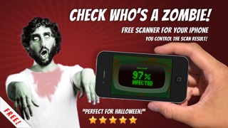 Zombies Scanner prank - test who's a Zombie using this free fingerprint touch scan screenshot one