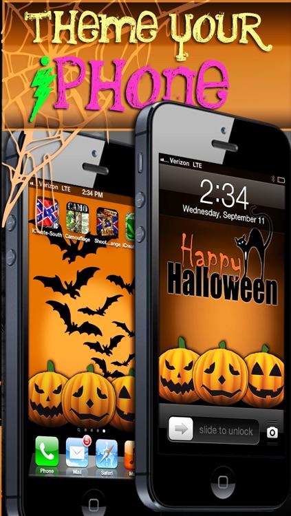 Halloween Mashup! FREE Spooky Wallpaper, Themes, & Backgrounds screenshot-3