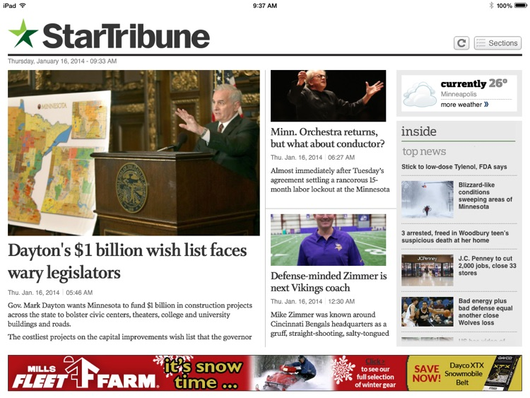Star Tribune News App
