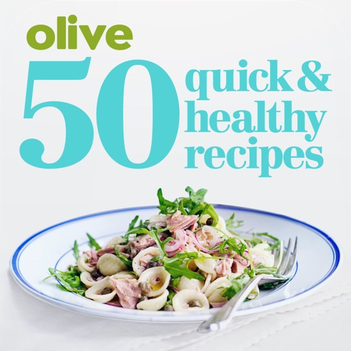 50 quick & healthy recipes from olive magazine icon