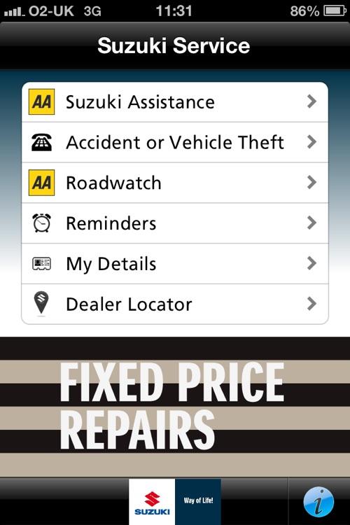 AA Suzuki Assistance by Automobile Association Developments