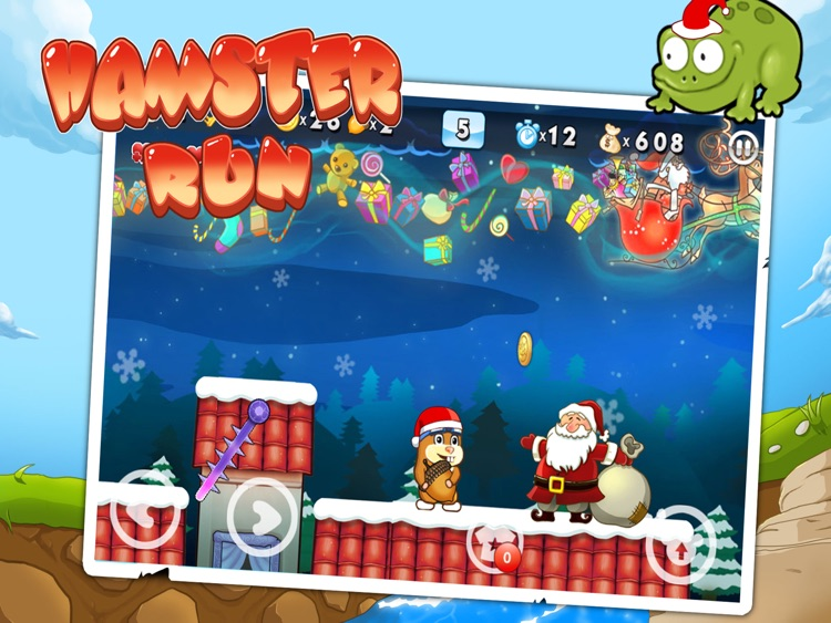 Hamster Run HD screenshot-1