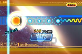 レッツタップ:リズムタップ 無料版のスクリーンショット3