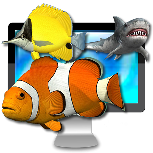 Desktop Aquarium 3D LIVE Wallpaper & ScreenSaver