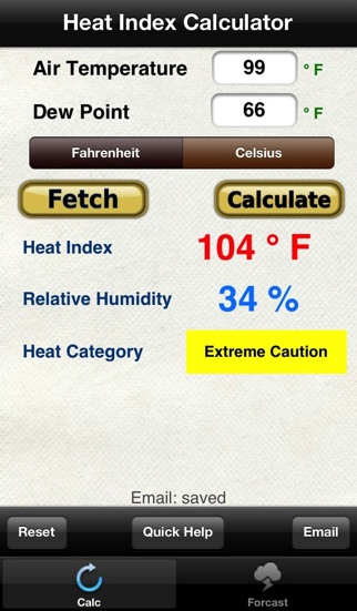 Heat Index Relative Humidity review screenshots