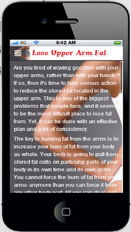 Lose Upper Arm Fat App:Get Rid of Arm Fat Now and Forever+ screenshot-4