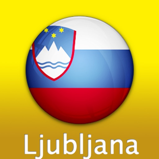 Ljubljana Travel Map (Slovenia)