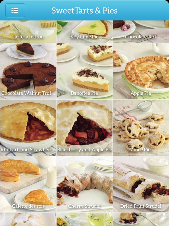 Dessert Recipes - TK Photo Cookbook for iPad