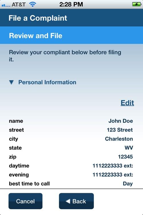 Housing Discrimination Complaint Application screenshot-3