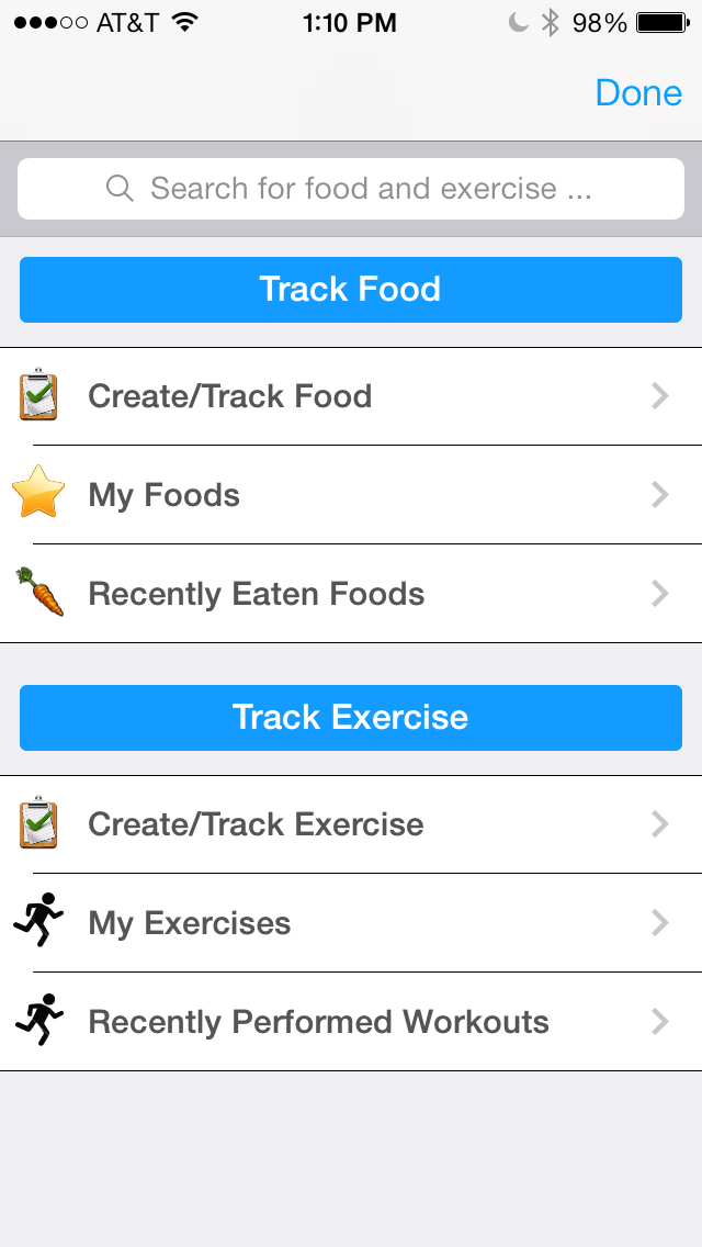 Pts. Calculator With Weight and Exercise Tracker for Weight Loss - Fast Food and Calorie Watchers Diary App by Awesomeappscenterのおすすめ画像2