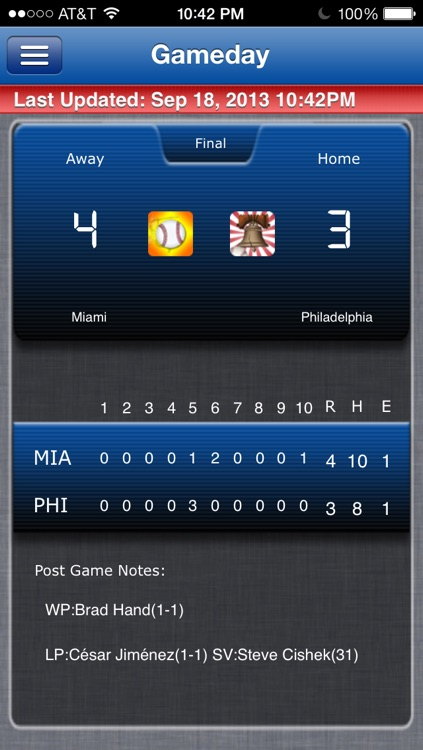 Philadelphia Baseball Live screenshot-0