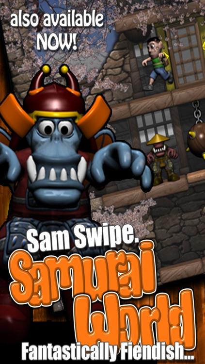 Sam Swipe Castle World screenshot-4