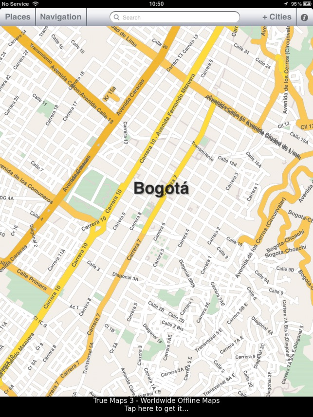Bogota Colombia Offline Map On The App Store - Where is bogota